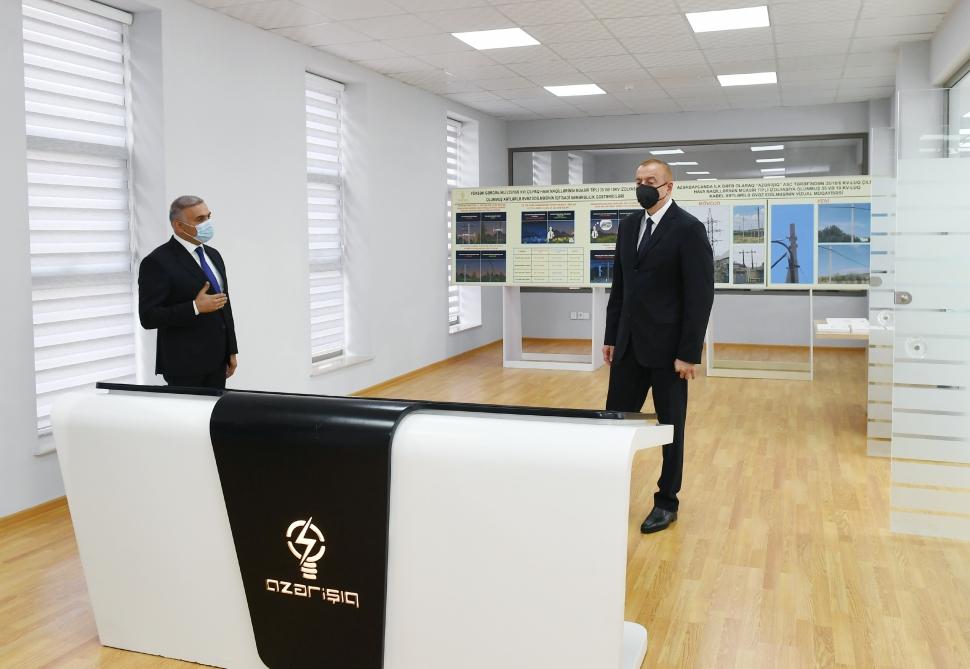 """Prezident """"Bal meyvə"""" bağçılıq təsərrüfatı ilə tanış olub - Fotolar + Video + Yenilənib"""