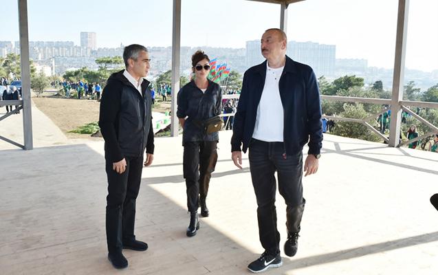 """""""Bu təbii mənzərə qorunmalıdır"""" - Prezident"""