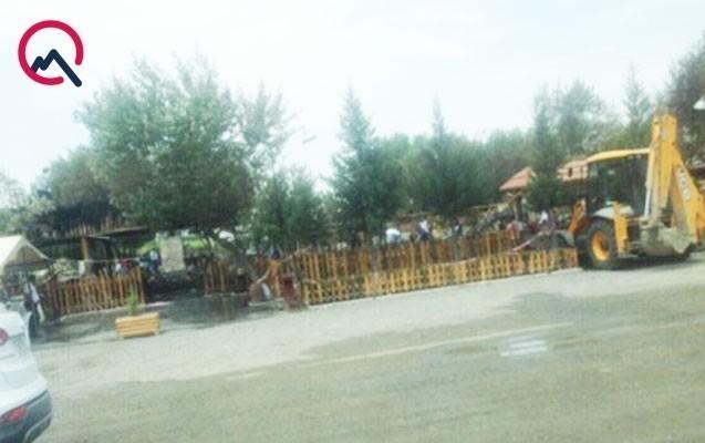 Bakı-Astara yolundakı məşhur kafe yandı