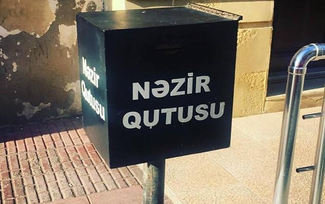 """""""Cümə"""" məscidinin nəzir qutusundan pul oğurlandı"""