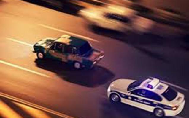 Ağdaşda DYP-nin təqib etdiyi sürücü maşını aşırdı